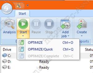 режимы оптимизации дисков