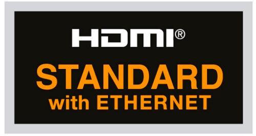 Standard HDMI кабель с поддержкой Ethernet